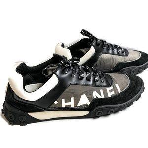 Chanel Nylon Sneakers / size 38.5